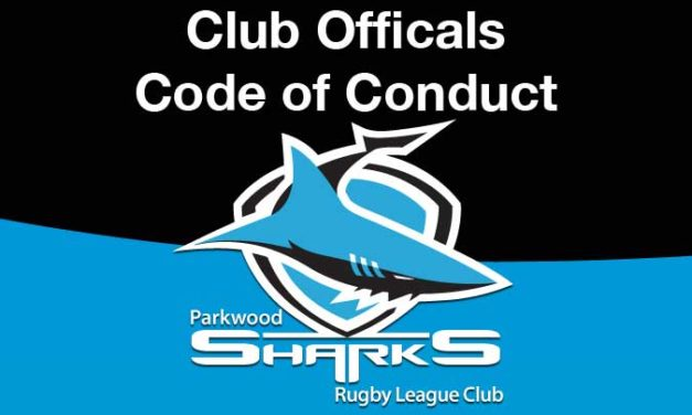 Club Officials Code of Conduct