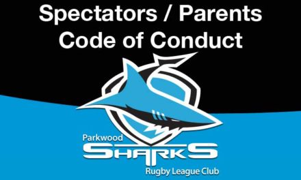 Spectators / Parents Code of Conduct